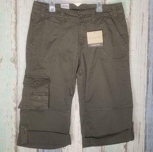 NWT Calvin Klein Women's Cargo Shorts Sz 8